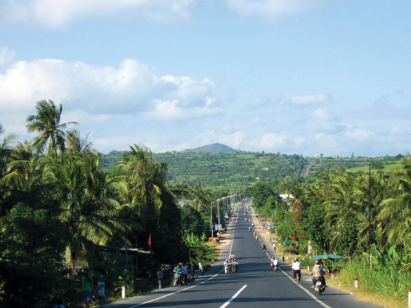 Sông Cầu, thị xã dừa -3