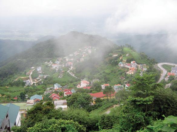 Tam Đảo, thị trấn xanh trong mây mù