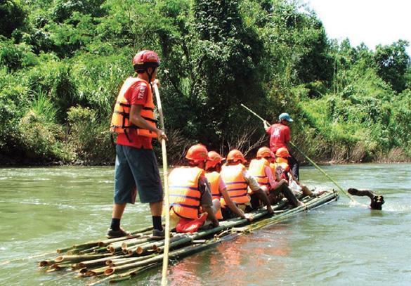 Kỳ nghỉ cuối tuần ấn tượng tại khu du lịch rừng Madagui