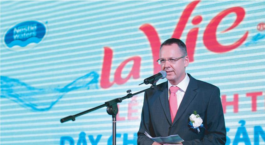 Ông Matthias Riehle - Tổng giám đốc Công ty TNHH La Vie