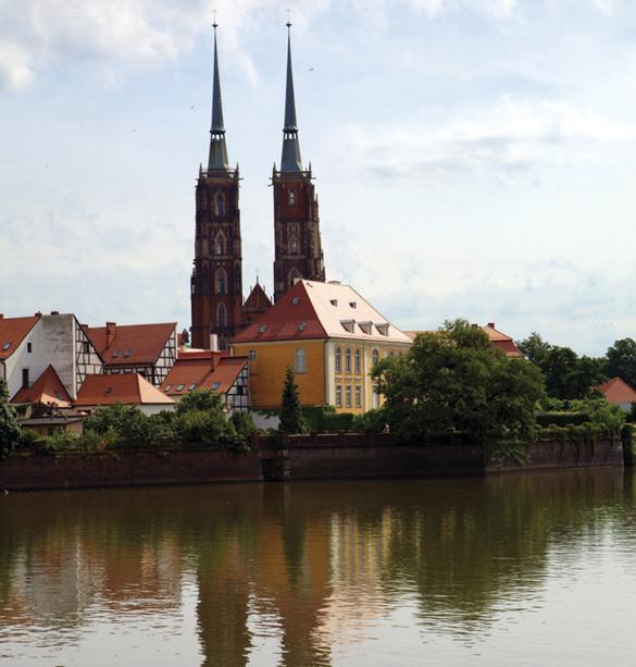 Nét duyên của thành phố cổ Wroclaw