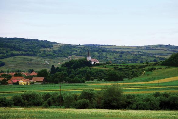 Cao nguyên Transylvania, một vùng cổ tích Rumani -1