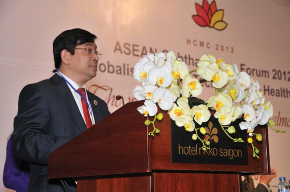 Tiến sĩ Lương Ngọc Khuê - Cục trưởng Cục Quản lý khám chữa bệnh Bộ Y tế