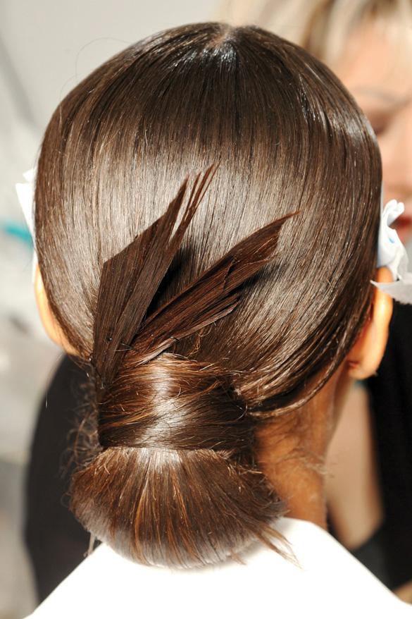 Xu hướng tóc nổi bật mùa xuân 2013 - 05