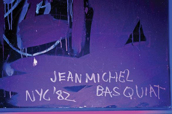 Bút tích bí mật của Basquiat