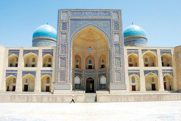 Uzbekistan - Một kiến trúc cổ ở Tashkent
