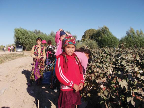 Nông thôn Uzbekistan
