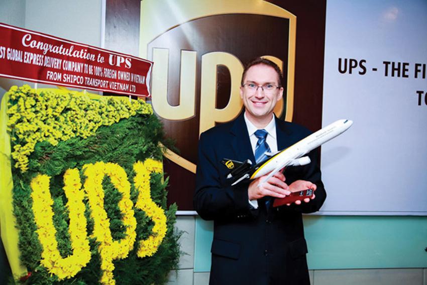 Ông Jeff McLean, Tổng giám đốc Công ty UPS Vietnam