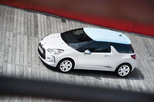 Citroën trở lại trong hình ảnh chiếc xe thời trang ba cửa DS3