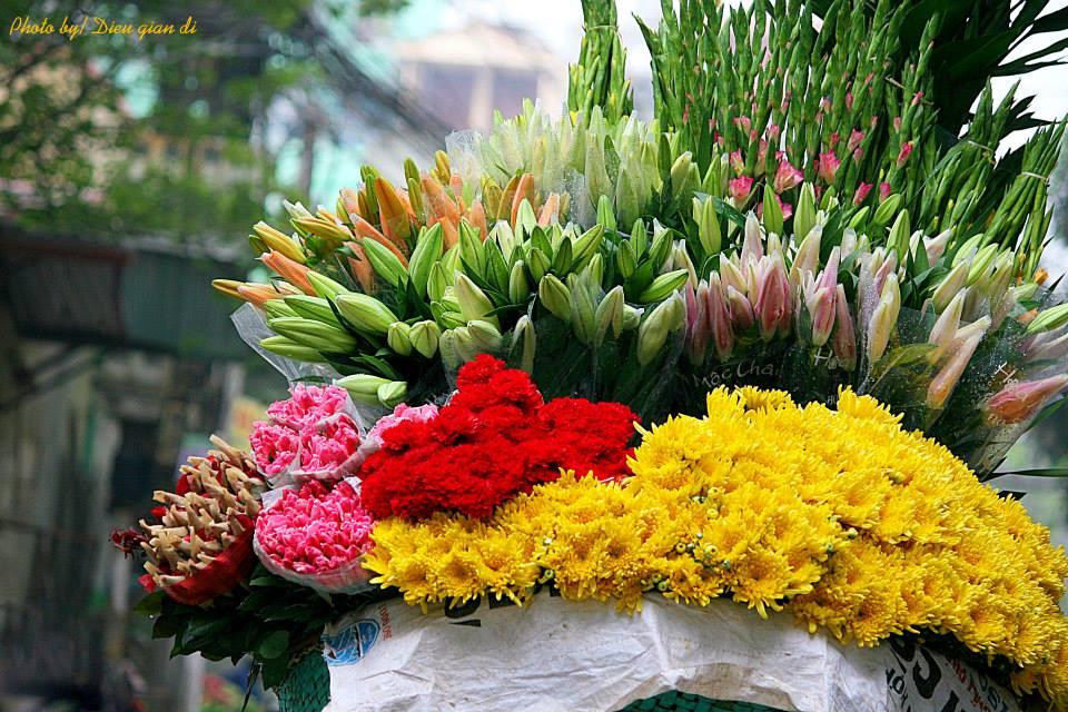Hàng hoa sinh viên