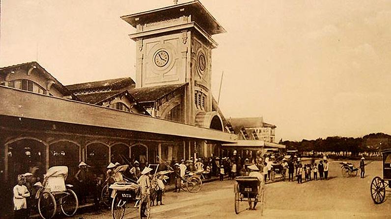 Chợ Bến Thành - một thế kỷ từ chợ thành đến chợ quốc tế -1