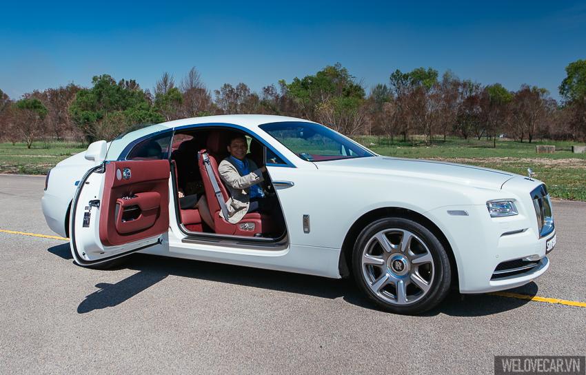 Rolls-Royce Wraith với phong cách, sức mạnh và độ quyến rũ khó cưỡng- Photo 19