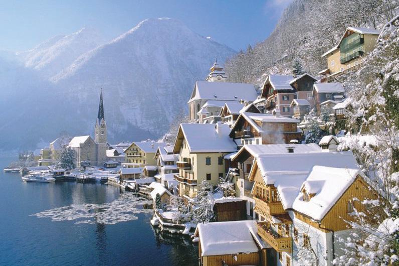 Những ngôi làng đẹp như tranh vẽ