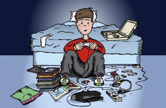 Teen-boy-playing-video-game