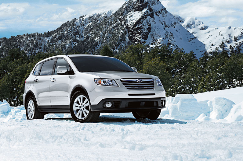 2013-Subaru-Tribeca-front-three-quarters
