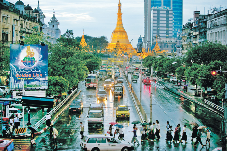 Yangon Economy Expands As Reforms Allow Business Growth