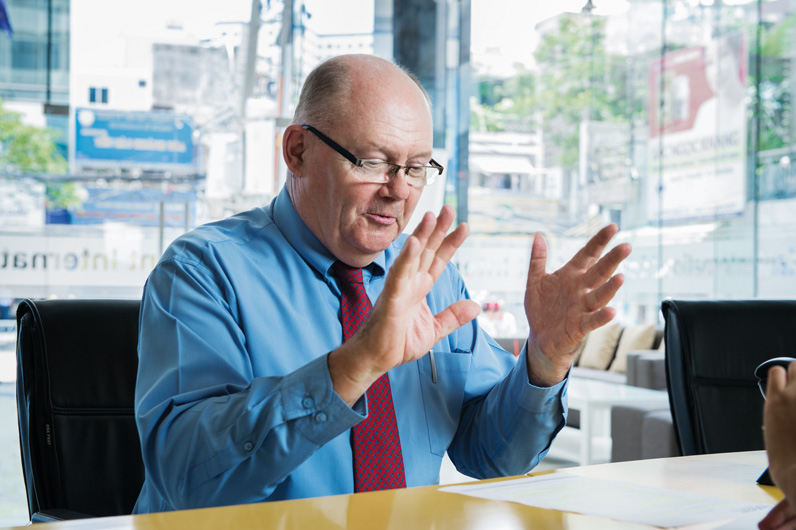 Ông Greg Radford - Hiệu trưởng Trường Cao đẳng Quốc tế Kent