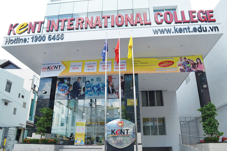 Hình ảnh campus mới của Kent tại quận Bình Thạnh