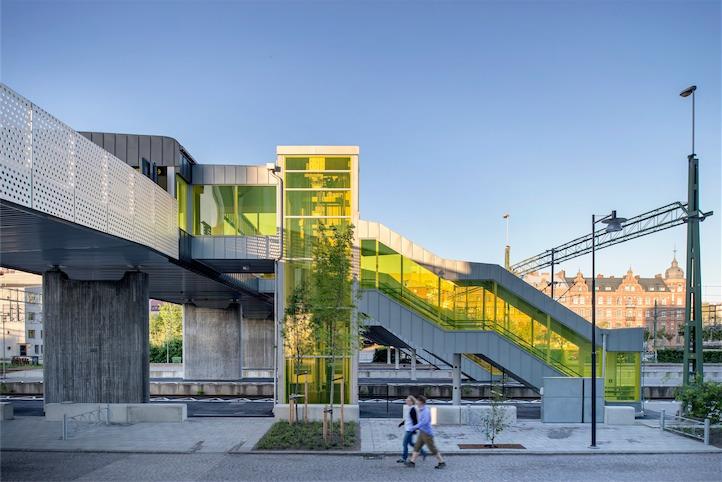 WAF_Skyttelbron Shuttle Bridge in Lund - Sweco Architects
