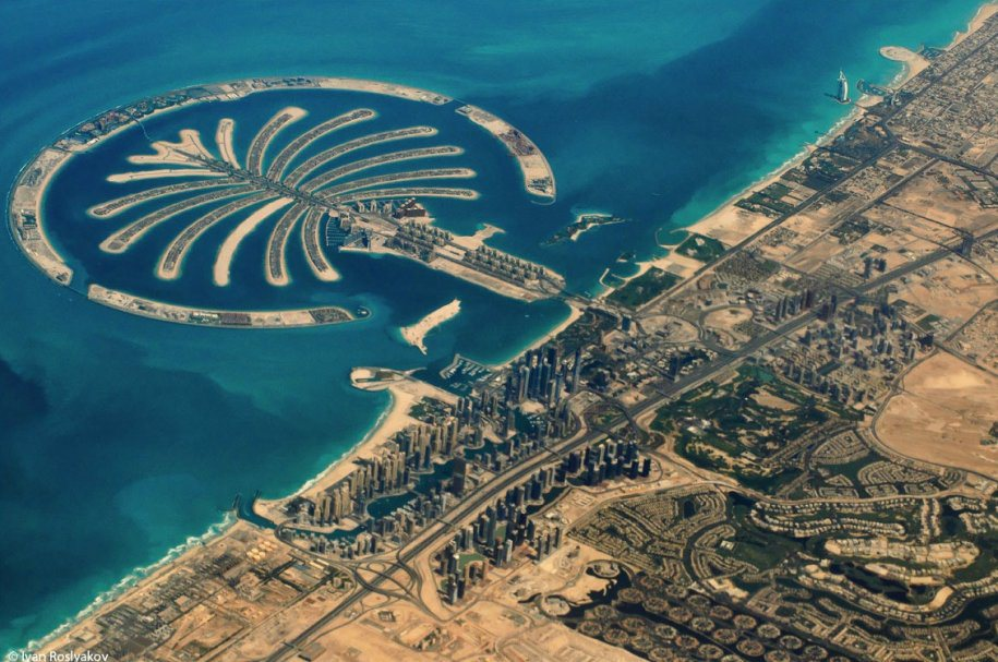 Dubai-Palmera