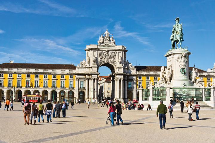 Quảng trường trung tâm Lisbon
