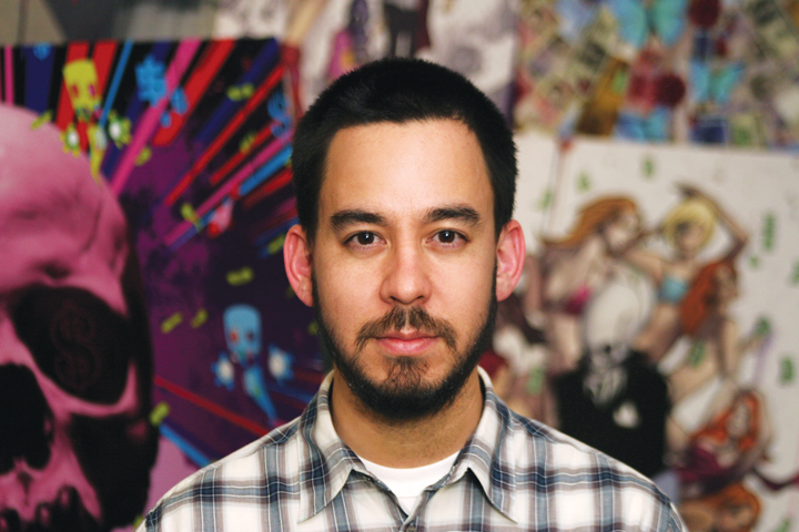 "Composer Mike Shinoda of ""The Raid: Redemption."" ©Sony Pictures. CR: Anna Shinoda."