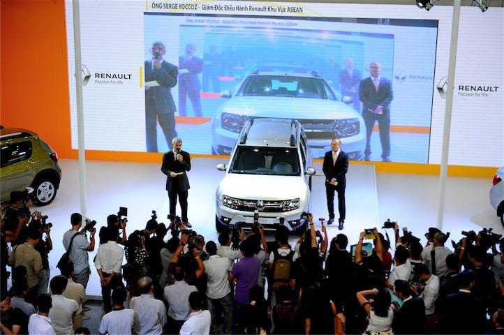 Renault là một trong những hãng xe được quan tâm nhất tại triển lãm