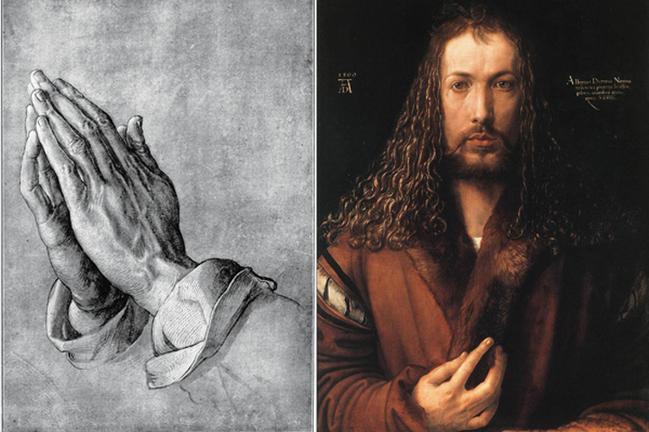 Học thương hiệu qua bức tranh Đôi bàn tay cầu nguyện