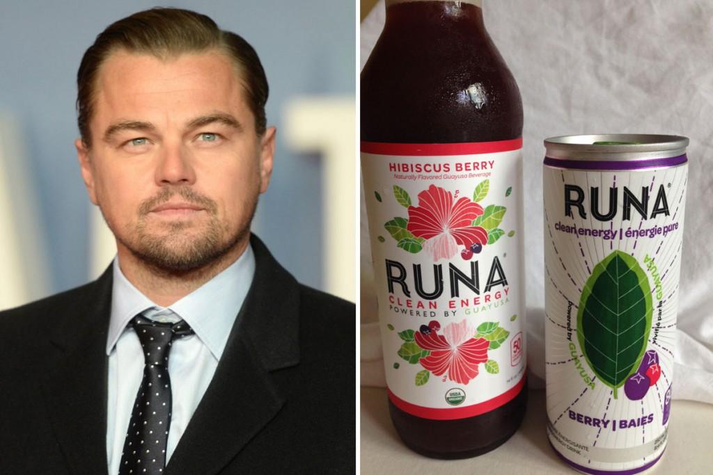 Leonardo DiCaprio đầu tư vào thương hiệu start up đang phát triển rất nhanh Runa
