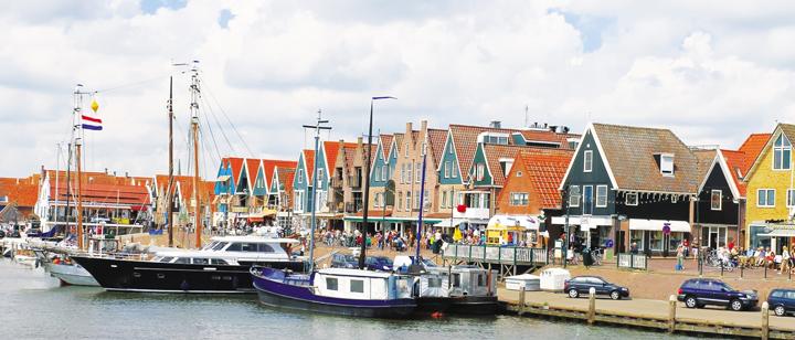 Những làng cổ xinh đẹp ở Amsterdam
