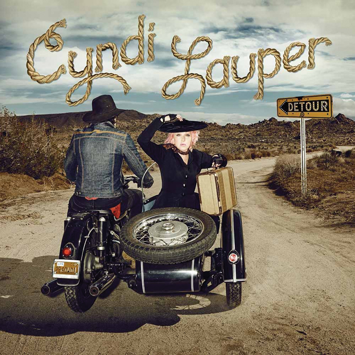 "Cyndi Lauper country album titled ""Detour"" Sire Records – May 6, 2016 release date"