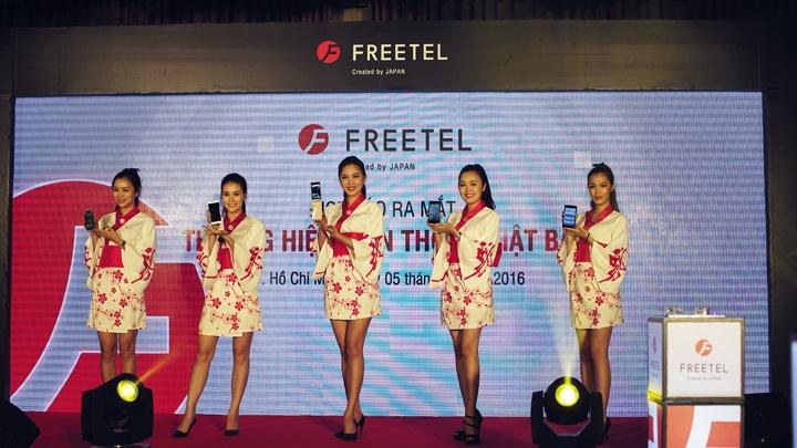 Năm mẫu điện thoại FREETEL chính thức được phân phối tại thị trường Việt Nam
