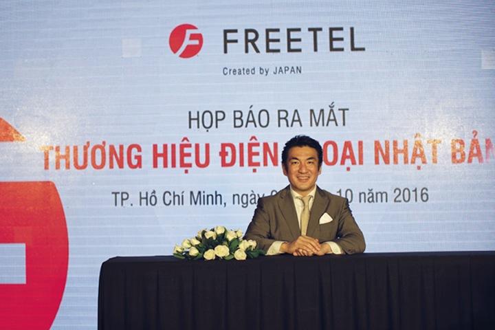 Ông Kaoru Masuda - CEO FREETEL 1