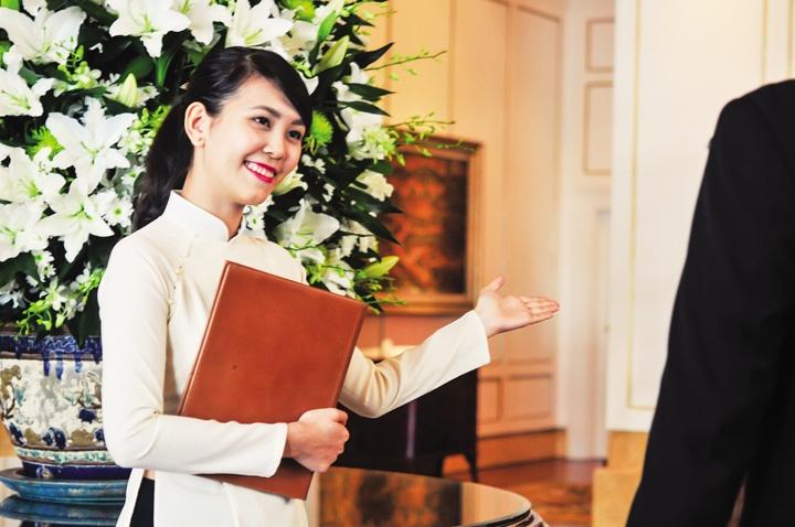 Nụ cười rạng rỡ luôn nở trên môi của đội ngũ nhân viên Park Hyatt Saigon
