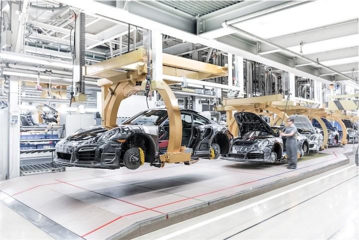 Porsche Factory at Zuffenhausen, Stuttgart
