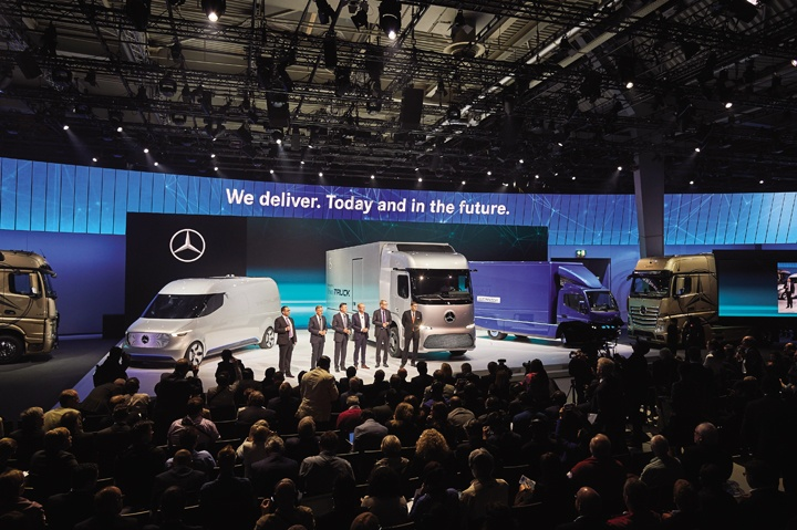 Daimler IAA Commercial Vehicles 2016