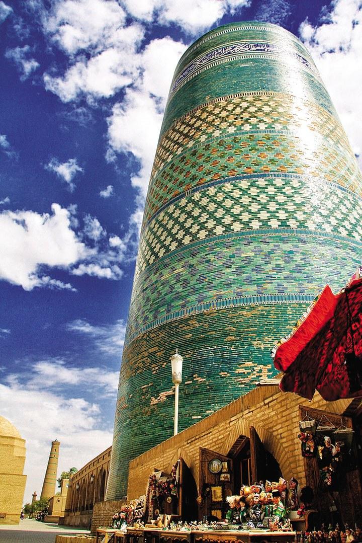 Ốc đảo Khiva - Báu vật trên con đường tơ lụa 4