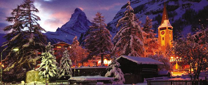 Mùa đông rực rỡ ở Thụy Sĩ 7
