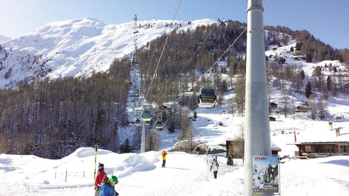 Mùa đông rực rỡ ở Thụy Sĩ 2