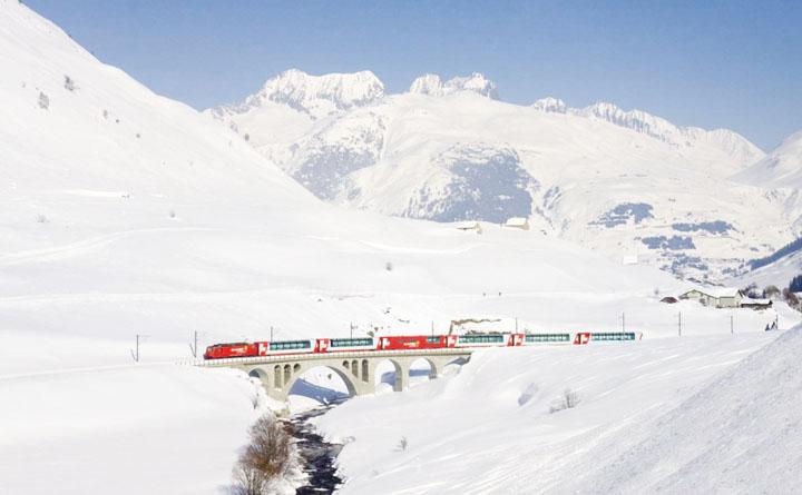 Mùa đông rực rỡ ở Thụy Sĩ 5