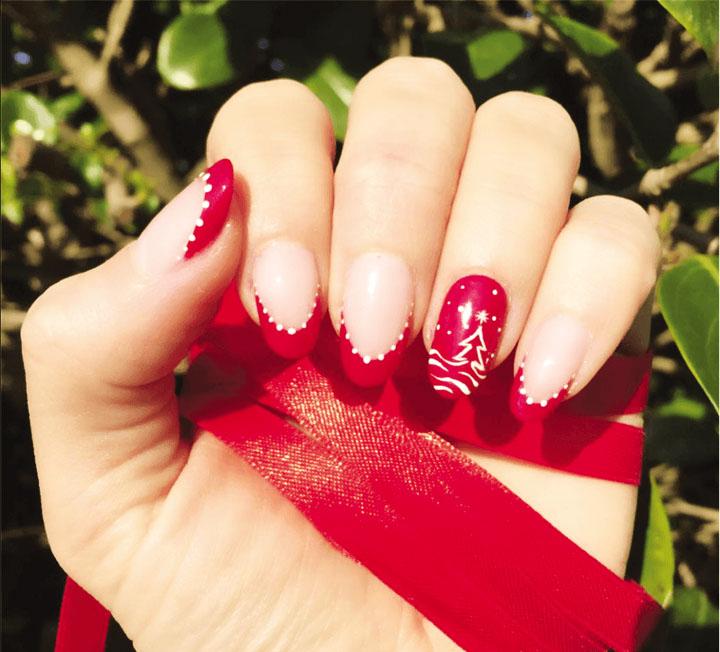 Móng tay đẹp đón Giáng sinh 13