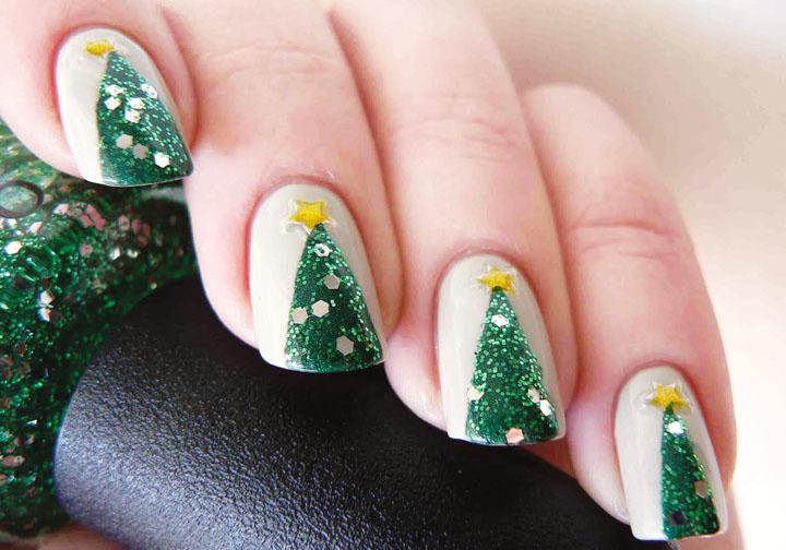 Móng tay đẹp đón Giáng sinh 8