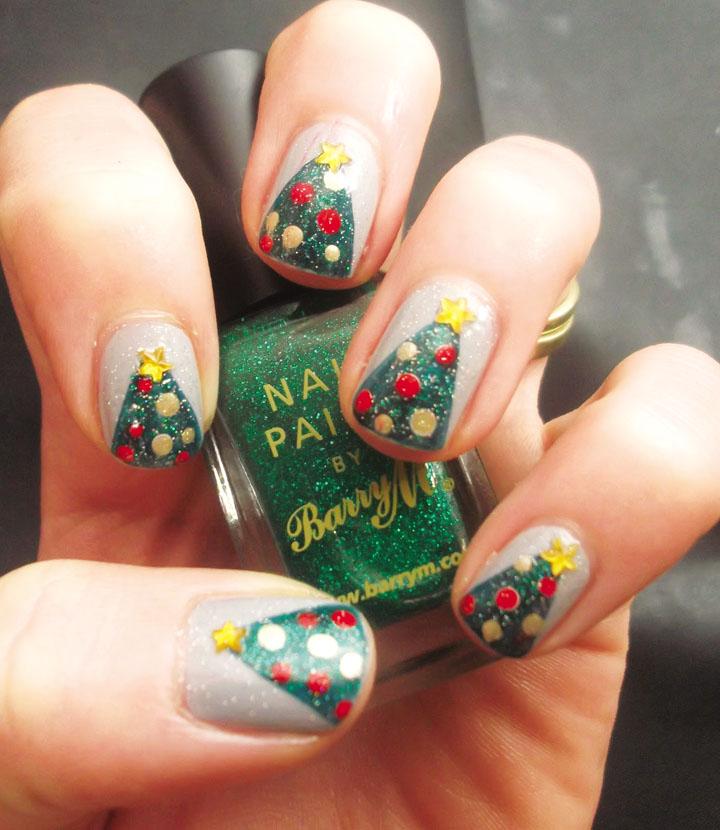 Móng tay đẹp đón Giáng sinh 9