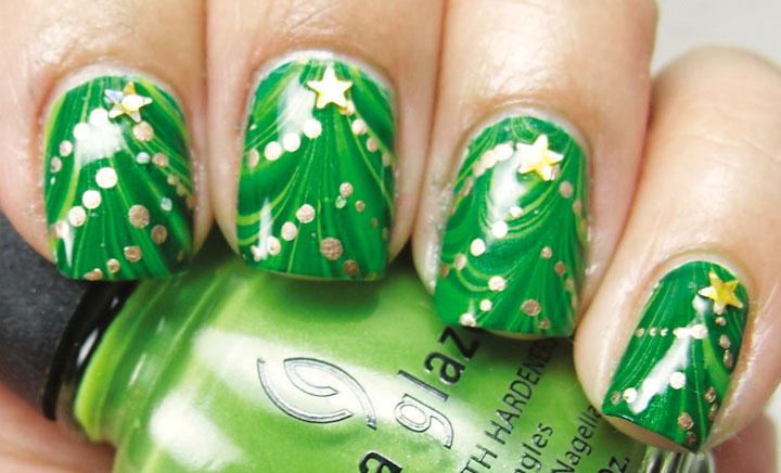 Móng tay đẹp đón Giáng sinh 10