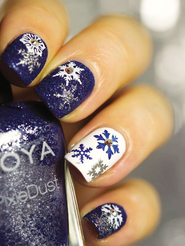 Móng tay đẹp đón Giáng sinh 16