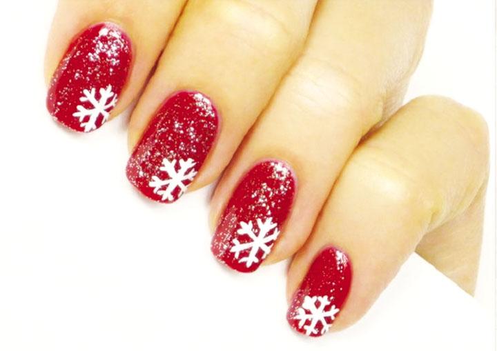Móng tay đẹp đón Giáng sinh 17