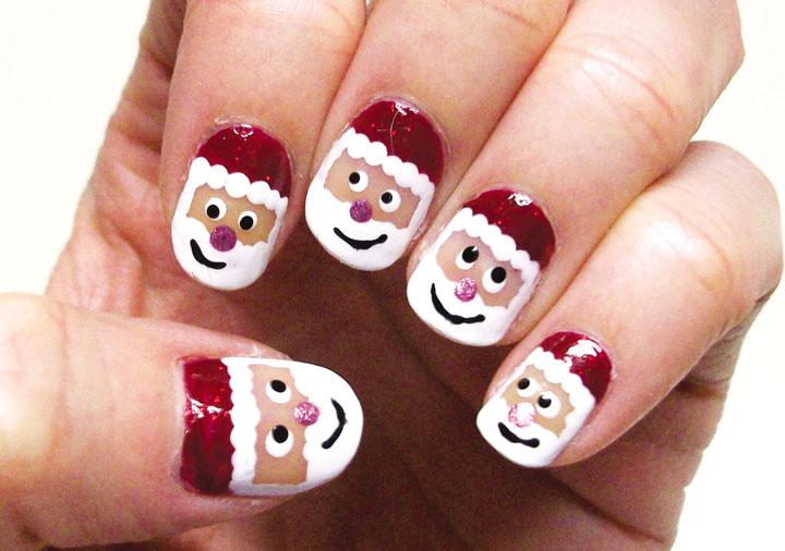 Móng tay đẹp đón Giáng sinh 3