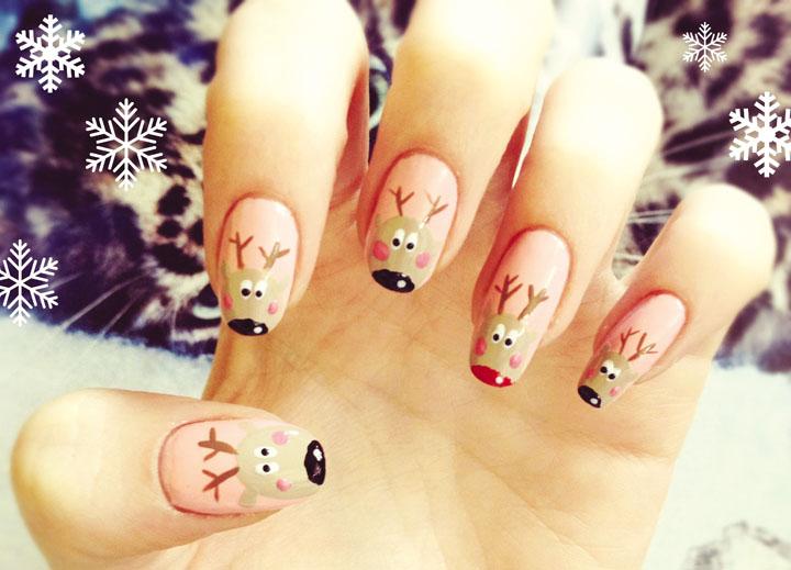 Móng tay đẹp đón Giáng sinh 15