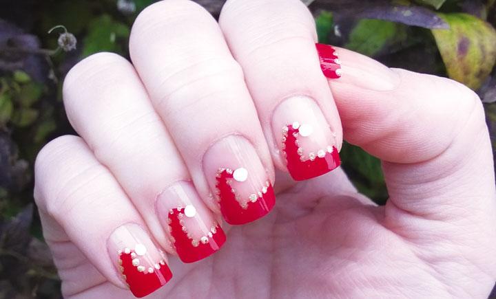Móng tay đẹp đón Giáng sinh 6