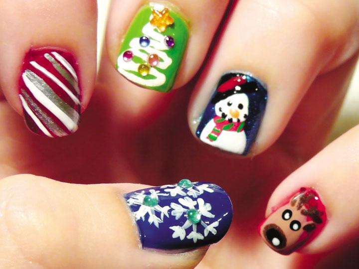 Móng tay đẹp đón Giáng sinh 22